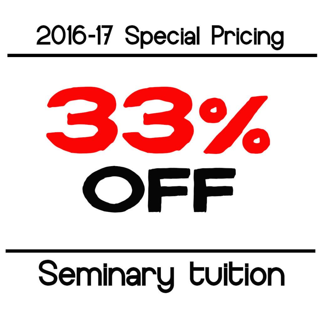 Seminary Discount