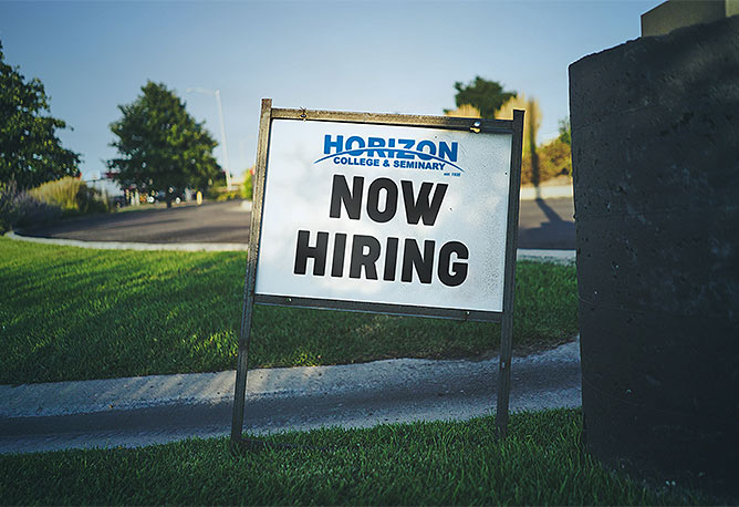 Horizon is now hiring!