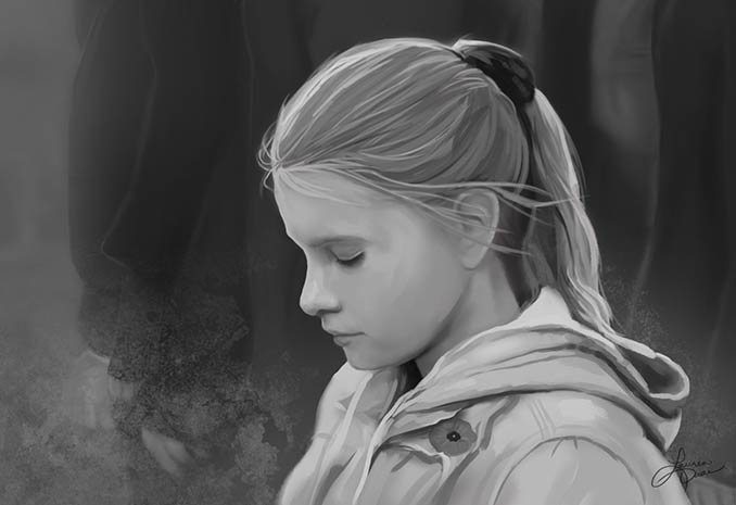 Moment of Silence by Lauren Daae