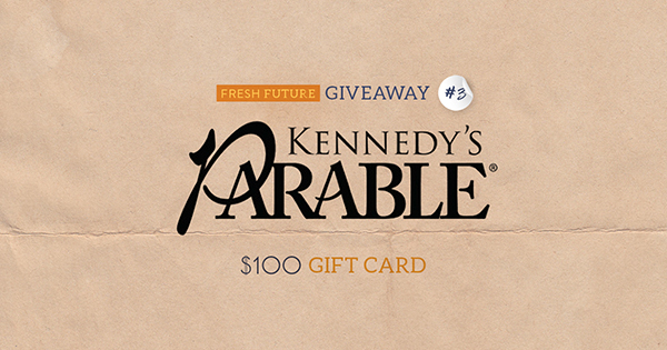 Kennedy's Parable Giveaway