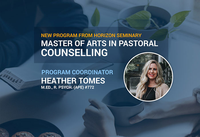 Master of Arts Pastoral Counselling